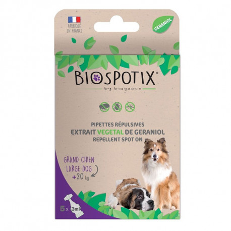 Biogance Biospotix Dog spot-on pipety L-XL 3x3ml  - 1