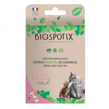 Biogance Biospotix Cat spot-on pipety 5x1ml Biogance - 1