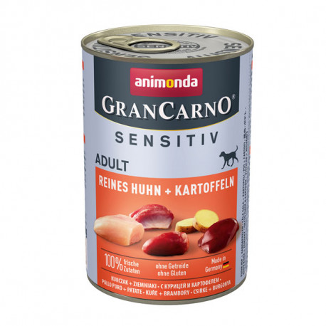 Animonda GranCarno Sensitiv Adult - Kuracie so zemiakmi 800g Animonda - 2