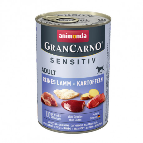 Animonda GranCarno Sensitiv Adult - Jahňacie so zemiakmi 800g Animonda - 2