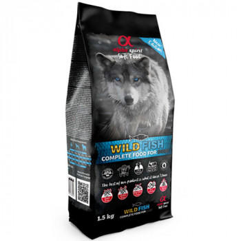 Alpha Spirit Complete Soft Dog Food - Wild Fish 1,5kg Alpha Spirit - 1