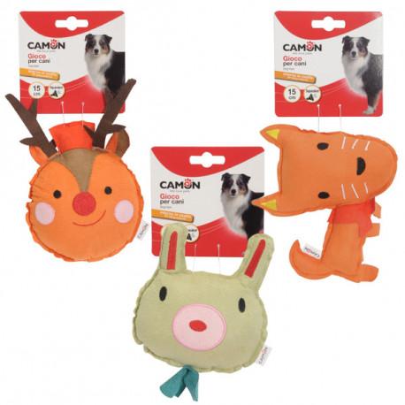 Plyšová hračka Camon pre psa - zvieratko s neoprénom 15cm Camon - 1