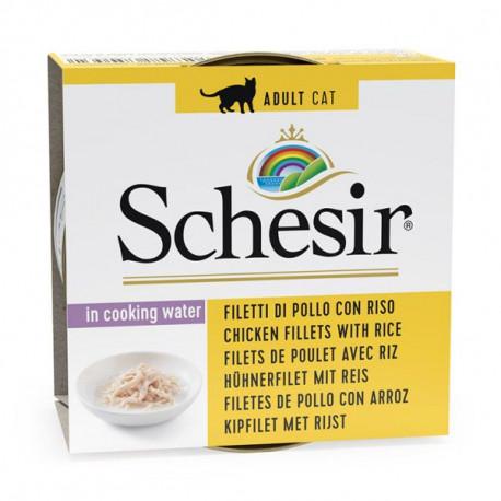 Schesir Cat - Kuracie filety s ryžou vo vlastnej šťave 85g Agras Delic - 1