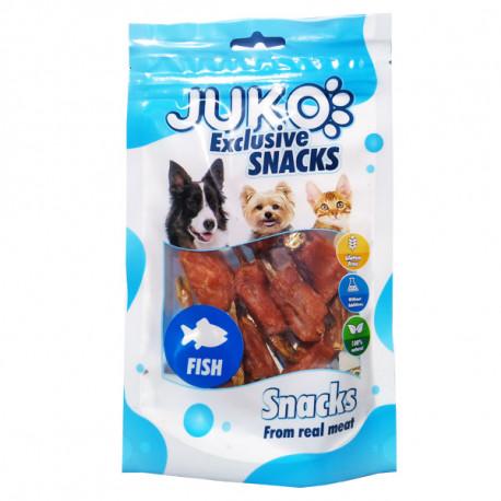 Juko Snacks Chicken & Fish 70g Juko - 1