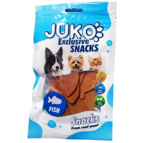 Juko Snacks Salmon in Fish Shape 70g Juko - 1