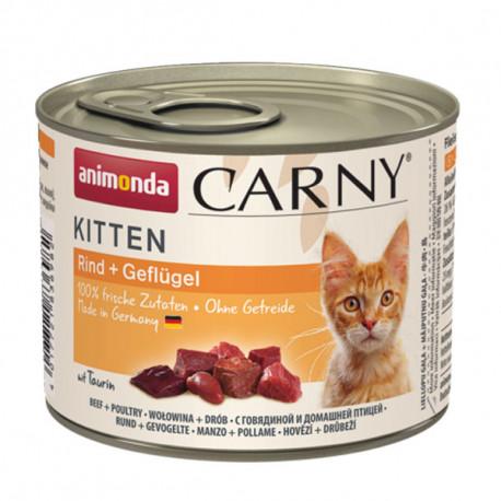 Animonda Carny Kitten - Hovädzie a kura 200g Animonda - 1