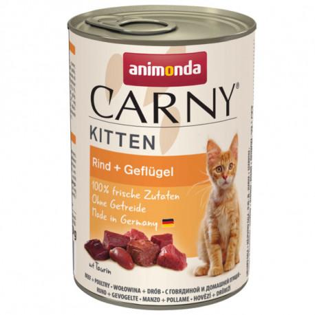 Animonda Carny Kitten - Hovädzie a kura 400g Animonda - 1
