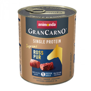 Animonda GranCarno Single Protein Supreme - Konské čisté 400g Animonda - 2