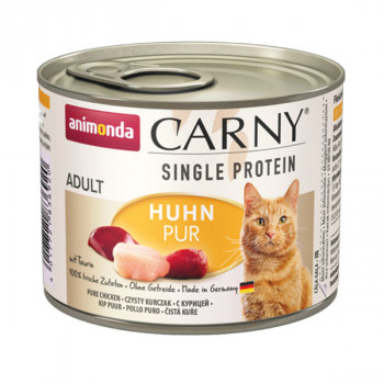 Animonda Carny Adult Single Protein - Čisté kuracie 200g Animonda - 1