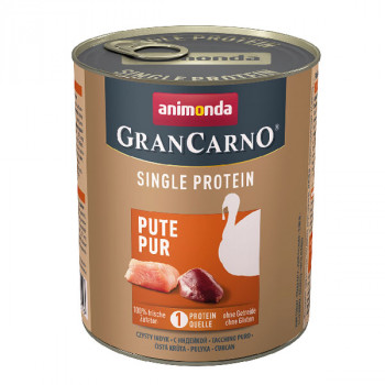 Animonda GranCarno Single Protein - Morčacie čisté 400g Animonda - 2