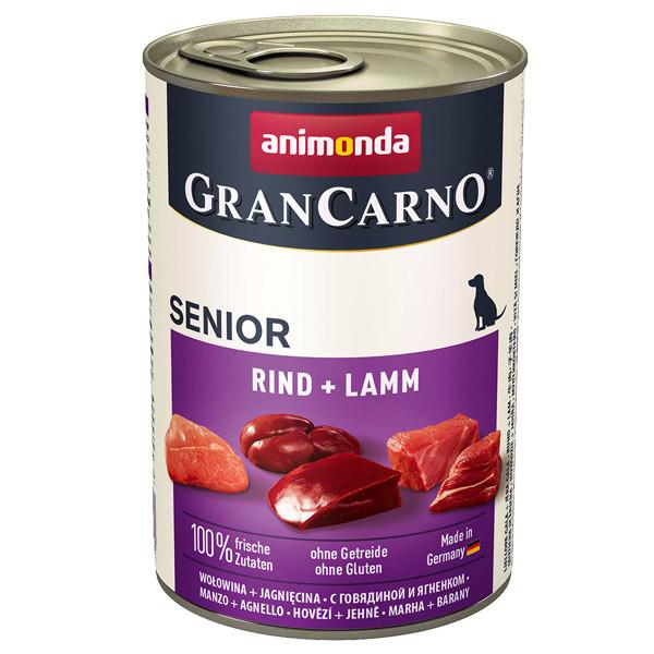 GranCarno Original Senior - hovädzie a jahňa Animonda - 1