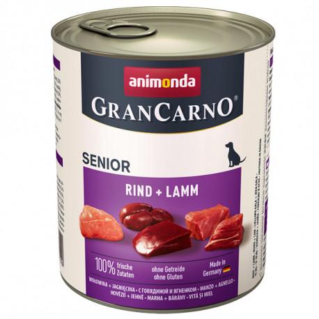 Animonda GranCarno Original Senior - Hovädzie a jahňa 800g Animonda - 1