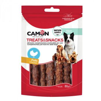 Camon Treats&Snacks Dog - Veľké kuracie tyčinky 80g Camon - 1