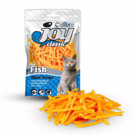 Calibra Joy Cat Classic Fish Strips 70g Calibra - 1