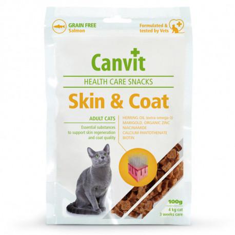 Canvit Cat Skin & Coat Snacks 100g Canvit - 1