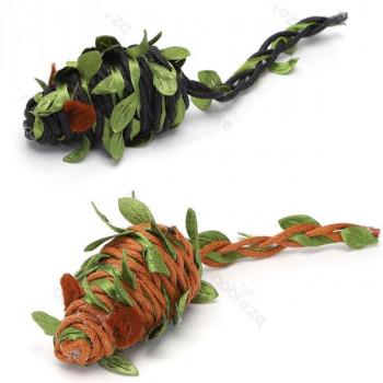 Hračka pre mačku Nobleza - Myš s kamuflážou 10cm Nobleza - 1