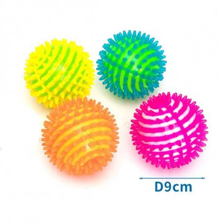 LED svietacia masážna lopta pre psa Nobleza 9cm Nobleza - 1