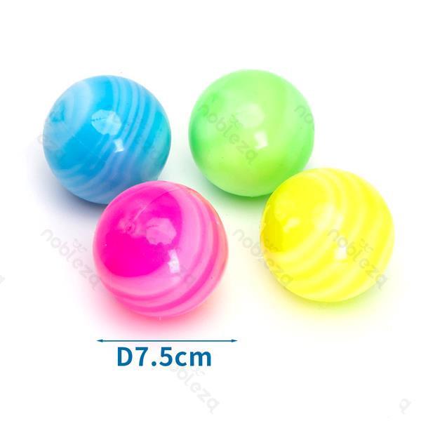 LED svietiaca GALAXY lopta pre psa Nobleza 7,5cm Nobleza - 1