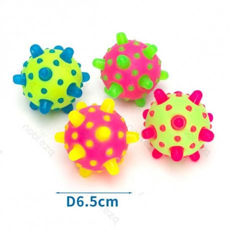 LED svietiaca METEORIT lopta pre psa Nobleza 6,5cm Nobleza - 1