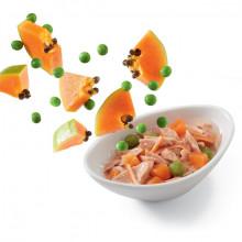 Schesir Cat Salads & Poké Tuniak a krab s papájou a hráškom 85g Agras Delic - 2