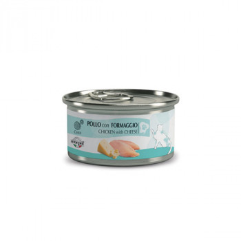 Chef Cat Adult Sterilized - Kuracie filety a syr 80g Marpet - 1