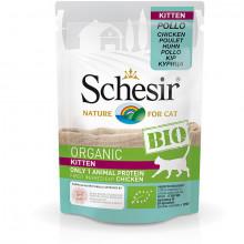 Schesir Bio Kitten - Kuracie 85g Agras Delic - 1