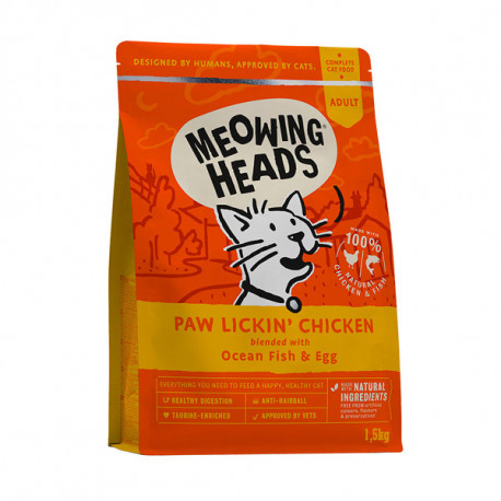 MEOWING HEADS Paw Lickin Chicken 1,5kg Meowing Heads - 1