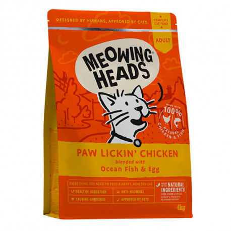 MEOWING HEADS Paw Lickin Chicken 1,5kg Meowing Heads - 2