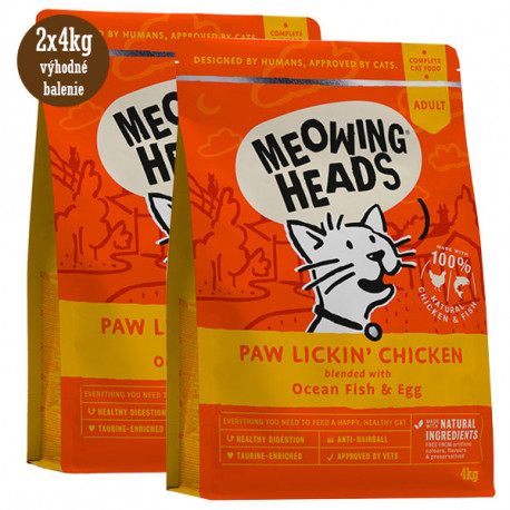 MEOWING HEADS Paw Lickin Chicken 1,5kg Meowing Heads - 3