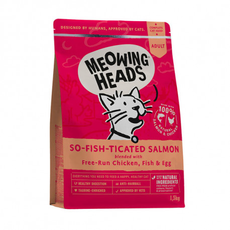 MEOWING HEADS So-fish-ticated Salmon 1,5kg Meowing Heads - 1