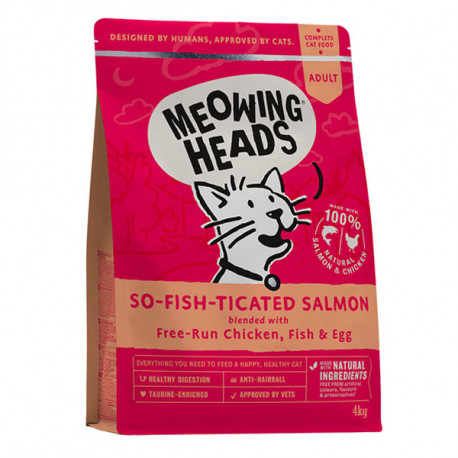 MEOWING HEADS So-fish-ticated Salmon 1,5kg Meowing Heads - 2
