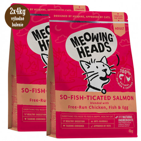 MEOWING HEADS So-fish-ticated Salmon 1,5kg Meowing Heads - 3