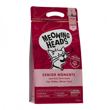 MEOWING HEADS Senior Moments 1,5kg Meowing Heads - 1