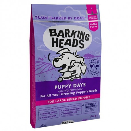 copy of BARKING HEADS Puppy Days 18kg Barking Heads - 2