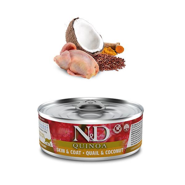 Farmina N&D cat QUINOA Quail & Coconut 80g Farmina N&D - 1
