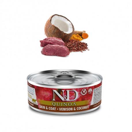 Farmina N&D cat QUINOA Venison & Coconut 80g Farmina N&D - 1