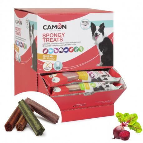 Camon Dental Dog Spongy Treats Tyčinka - bataty, kura a červená repa 28g Camon - 1