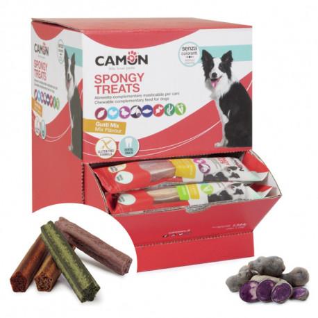 Camon Dental Dog Spongy Treats Tyčinka - bataty, kačica a fialové zemiaky 28g Camon - 1