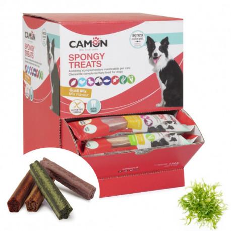Camon Dental Dog Spongy Treats Tyčinka - bataty, kura, makrela a morská riasa 28g Camon - 1