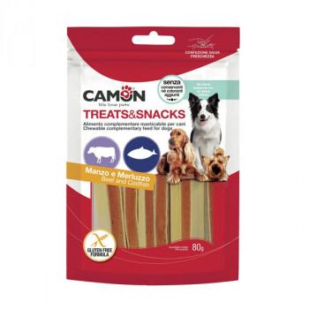 Camon Treats&Snacks Dog - Sandwich hovädzie s treskou 80g Camon - 1