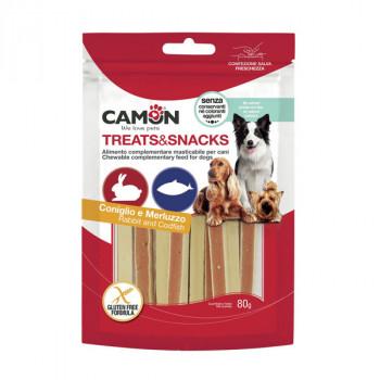 Camon Treats&Snacks Dog - Sandwich králičie s treskou 80g Camon - 1
