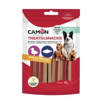 Camon Treats&Snacks Dog - Sandwich kačacie s treskou 80g Camon - 1