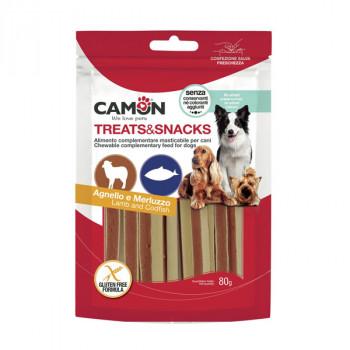 Camon Treats&Snacks Dog - Sandwich jahňacie s treskou 80g Camon - 1
