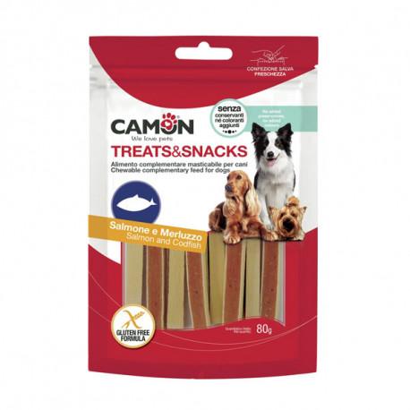 Camon Treats&Snacks Dog - Sandwich losos s treskou 80g Camon - 1