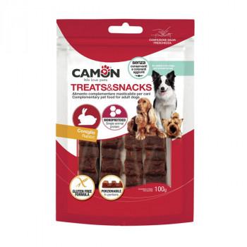 Camon Treats&Snacks Dog - Králičie porcovateľné 100g Camon - 1