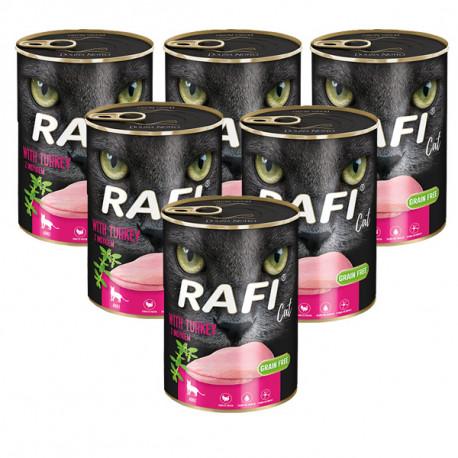 Rafi Cat Adult Grain Free s morčacím 400g DNP S.A. - 1