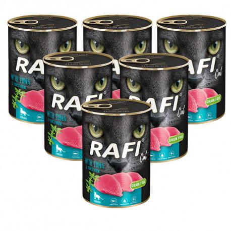 Rafi Cat Sterilized Grain Free s tuniakom 400g DNP S.A. - 1