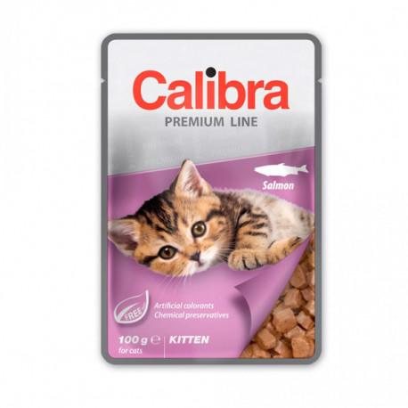 Calibra Cat Premium Kitten Salmon 100g Calibra - 1