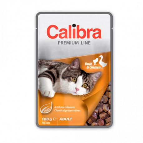 Calibra Cat Premium Adult Duck & Chicken 100g Calibra - 1