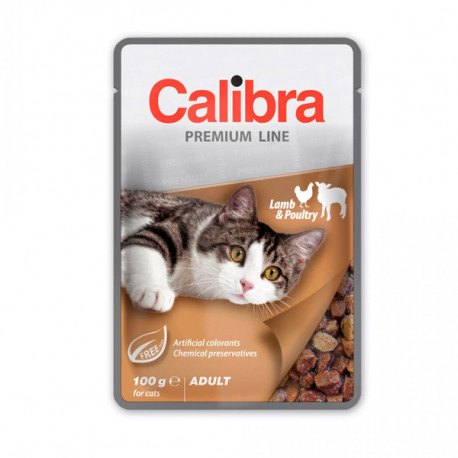 Calibra Cat Premium Adult Lamb & Poultry 100g Calibra - 1